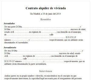 Договор аренды в Испании. 10 спорных моментов для сторон договора.