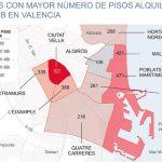 Airbnb превзошел доходы от гостиничного бизнеса в Валенсии.