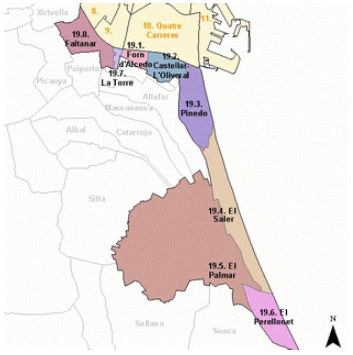 Купить квартиру в Валенсии: районы Валенсии. Часть 7. Южные поселения