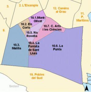 Купить квартиру в Валенсии: районы Валенсии. Часть 4. район куарте каррерс
