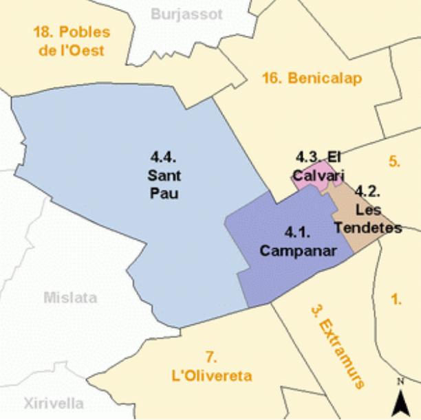 Купить квартиру в Валенсии: районы Валенсии. Часть 2. Кампанар