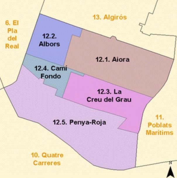 Купить квартиру в Валенсии: районы Валенсии. Часть 6. Айора
