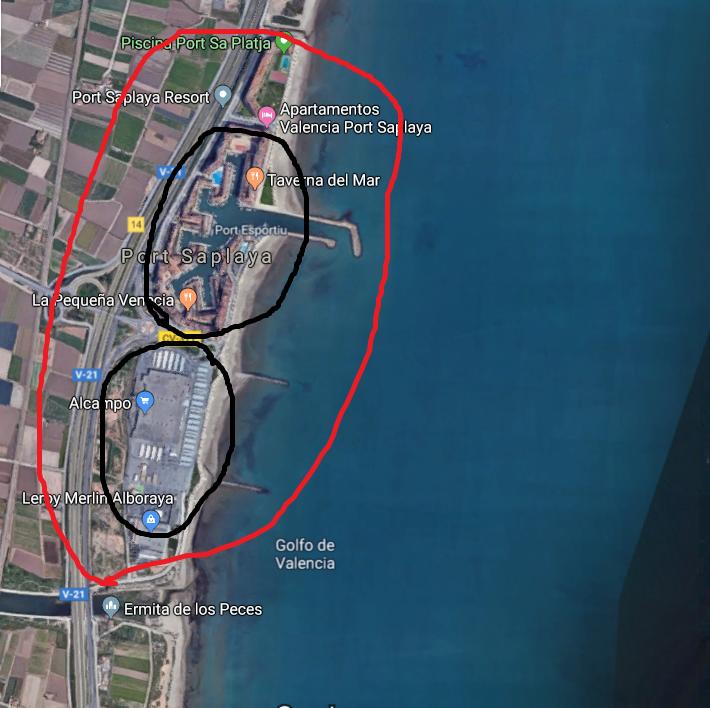"""""""Описание пригородов Валенсии для покупки недвижимости."""" Порт са плая"""