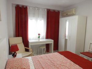 Квартира в Валенсии Тендетес -парк Турия АР067. спальня 1
